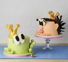 Mr. Froggy fun cake, via Flickr.