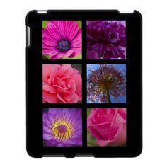 ipad Case - Pink Purple Flowers $56.20