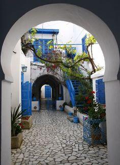 Sidi Bou Said-Tunez