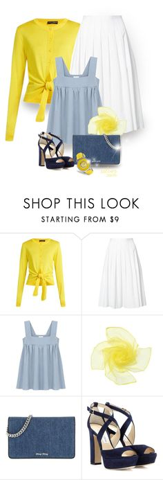 """enjoy yourself"" by silver-sun ❤ liked on Polyvore featuring Dolce&Gabbana, Vince, Miu Miu, Jimmy Choo and Invicta"