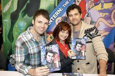 Seth Gabel, Blair Brown and Joshua Jackson #Fringe