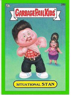 2012 Topps Garbage Pail Kids Situational Stan Sticker