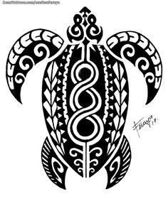 Diseño de MarkosFeraya Tortugas, Maoríes, Animales En ZonaTattoos, tu web de tatuajes