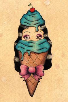 Ice Cream Surprise II by Katie-92
