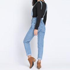 Macacão Feminino Jeans Tendência Primavera Verão 2015 2016