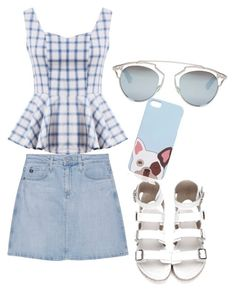 """""""Untitled #191"""" by princesssheryl1 on Polyvore featuring AG Adriano Goldschmied and Christian Dior"""