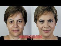 MAQUIAGEM PELE SEMI-MADURA | #NAYMAQUIADORA - YouTube