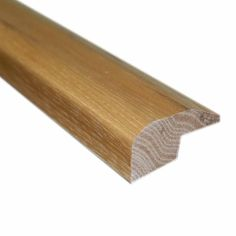 Southern Pecan 22/25 in. Thick x 2 in. Wide x 78 in. Length Hardwood Carpet Reducer/Baby T-Molding, Brown
