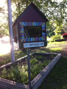 Little Free Library - Lake Katherine Palos Heights, Illinois Little Free Libraries, Little Library, Free Library, Library Books, Palos Heights, Friends Of The Library, Community Building, Yard Art, Bookstores