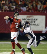 Week 2: Atlanta #Falcons over Denver #Broncos 27-21.