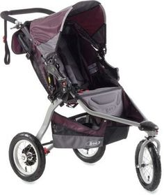 I like the plum color on this stroller.