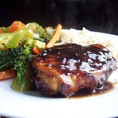 Baked Teriyaki Chicken, just made this tonight, OH MY!!! so delish!!!!   ( i followed the recipe exactly too!)