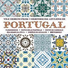 Tile Designs from Portugal  Buy €17.50    Beautifully made tile patterns are one the most striking expressions of Portuguese culture. It is virtually impossible not to encounter striking tableaux when strolling around Portugal's old cities. Tile Designs from Portugal contains over 100 designs originating from the 17th and 18th century. All have been meticulously restored and vectorised for this book.