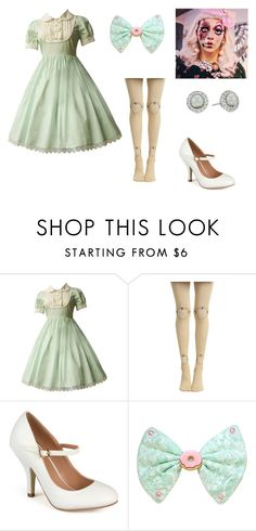 """""""Broken Doll Costume"""" by oliviaf14 ❤ liked on Polyvore featuring Journee Collection and Majorica"""