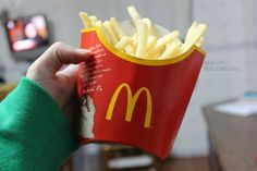 McDonald's fries ♡ there not health food but the best to eat for salty snacks or for fast food meals :)
