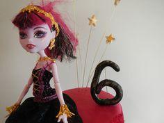 Monster High Birthday cake - november 2013