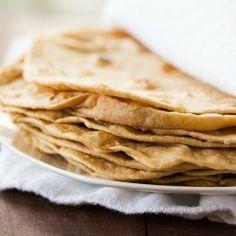 DIY: Homemade Flour Tortillas   Brown Eyed Baker