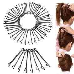 Haarspangen Flat Top Bobby Pins Grip Salon Haarspange Haarnadel Invisible