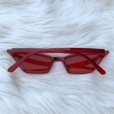 8955af6913e4b Gorgeous lucite clear transparent sunnies Brand new never - Depop   sunglasses Big Sunglasses
