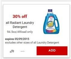 all Radiant Cartwheel Deal at @Target #ad #RadiantLaundry http://www.addictedtosaving.com/?p=151537