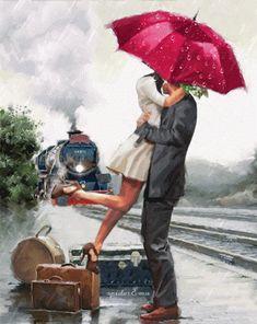 Gifs e imagem: As muitas águas não podem apagar este amor, nem os...