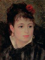 Renoir Woman with rose in her hair.jpg