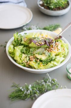 Blue Kale Studio Salad | 101 Cookbooks