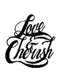 Love and Cherish Afghan Chart Pdf by AngelscrochetedGifts on Etsy, $4.00