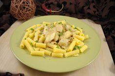 Glutenfreie Penne an Spargel – Cashew Rahm