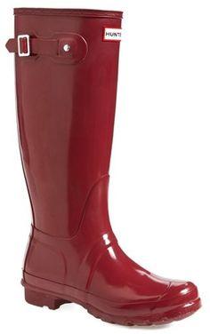 Hunter Original High Gloss Boot (Women) on shopstyle.com