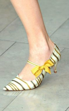 Could wear kitten heels every day of my life. ....tory burch