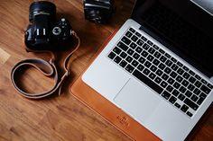 Housse MacBook Pro Retina 13 Cuir et Feutre étui