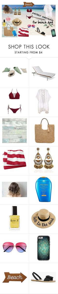 """Swimwear contest"" by lizenn-annah-binet on Polyvore featuring mode, IMAX Corporation, Skargaarden, Do Everything In Love, Wall Pops!, John Lewis, Shiseido, Lauren B. Beauty, Mud Pie et Boohoo"