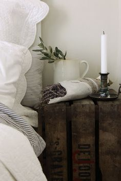 ~~~~~~♥ Lovely Country Bedroom Inspiration #farmhouse