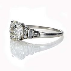 Leigh Jay Nacht Inc. - Circa 1930's Engagement Ring - R439-06A