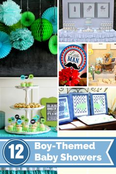 Planning a baby shower for the mom-to-be who's having a little boy? We have some awesome, creative boy baby shower ideas for you to help you with the planning! Boy Baby Shower Themes, Baby Boy Shower, Baby Showers, Diy Party, Party Ideas, Event Ideas, 18th Birthday Party, Camping Theme, Party Entertainment