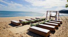 Yes Wedding Outdoor Furniture, Outdoor Decor, Sun Lounger, Wedding Inspiration, Wedding Ideas, Sim, Beach Weddings, Christian Marriage, Littoral Zone