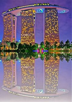 """Marina Bay Sands Hotel ~ Gardens by the Bay ~ Singapore ~ Miks' Pics """"Gardens by the Bay ~ Singapore"""" board @ http://www.pinterest.com/msmgish/gardens-by-the-bay-~-singapore/"""