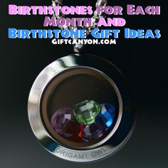 Birthstones for Each