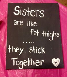 For my sister  Dollar store canvas makes gift giving affordable!! DIY canvas