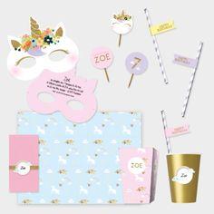 Vous organisez un anniversaire Licorne ? Alors laissez vous tenter par notre pack personnalisable !