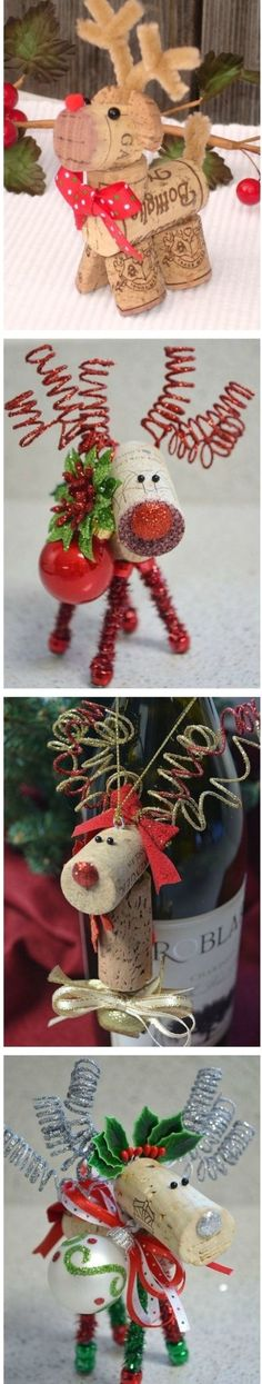 Noel Christmas, Diy Christmas Ornaments, Homemade Christmas, Diy Christmas Gifts, Christmas Projects, Winter Christmas, Holiday Crafts, Christmas Decorations, Craft Decorations