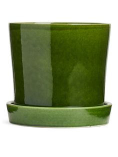 Terracotta Flower Pot 18 cm - Green - Home - ARKET NO Intelligent Agent, The Frugality, Terracotta Flower Pots, Stationery Items, Silver Prices, Soft Furnishings, Modern Interior, Kitchen Interior, Bath And Body