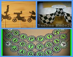 Dirt bike Birthday Party Package 1 by NaeNaeMadeIt on Etsy