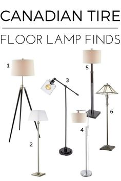 Our Floor Lamps Are Great To Bright Up Any Style Home Check Out 6 Different