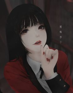 ArtStation - Yumeko Jabami (Kakegurui), Aoi Ogata