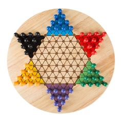 How to Make a Chinese Checkers Board | Pinterest | Template, Gaming ...