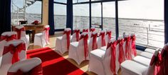 The Royal Corinthian Yacht Club. Burnham-on-Crouch, Essex. - A unique venue with the river view offering a spectacular backdrop.