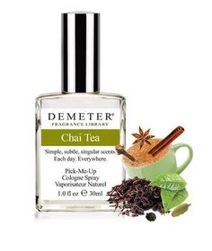 Demeter Chai Tea Fragrance | From chai tea to pumpkin spice, here are six products that smell so good you'll wish you could eat them.