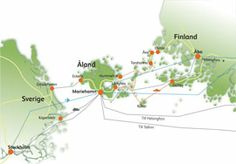 Ahvenanmaa - Åland Official Travel Guide - Åland has good daily connections to the mainland from Helsinki and Turku in Finland and also Sweden and Estonia. Archipelago, Beautiful Islands, Helsinki, Letting Go, Sweden, Travel Guide, Scandinavian, How To Get, Roots